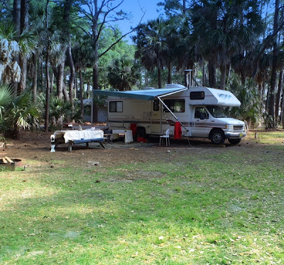 Hunting Island Campground, South Carolina, photo by DearMissMermaid.com