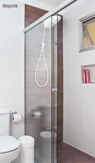 19 banheiros pequenos  dos mais simples aos rebuscados!  DECORAÇÃO DE INTER -> Nicho Banheiro Cerâmica
