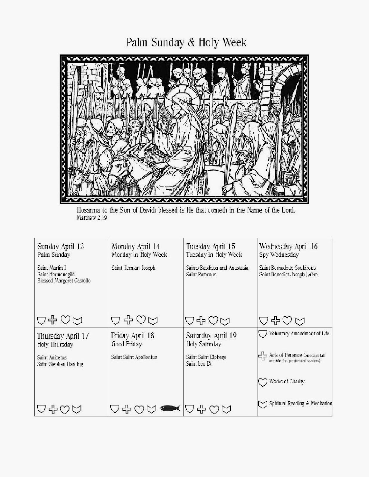 Trinity acres lenten calendar next year i plan to start at septuagesima sunday to include the pre lenten season and perhaps add some other things but for a last minute project i biocorpaavc
