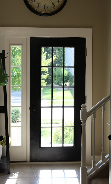 The yellow cape cod tutorial how to get a custom front for Exterior back door with window