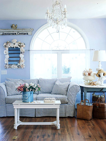 New home interior design cottage style rooms