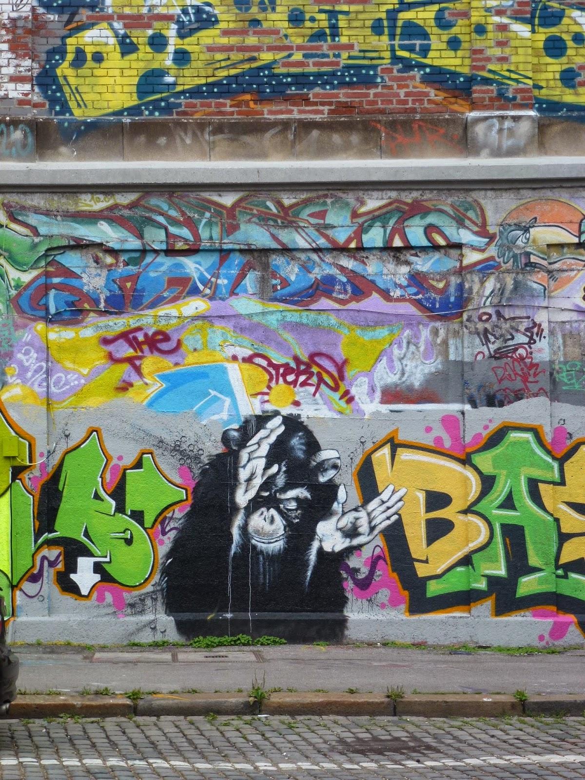 Graffiti, Streetart, Urbanart
