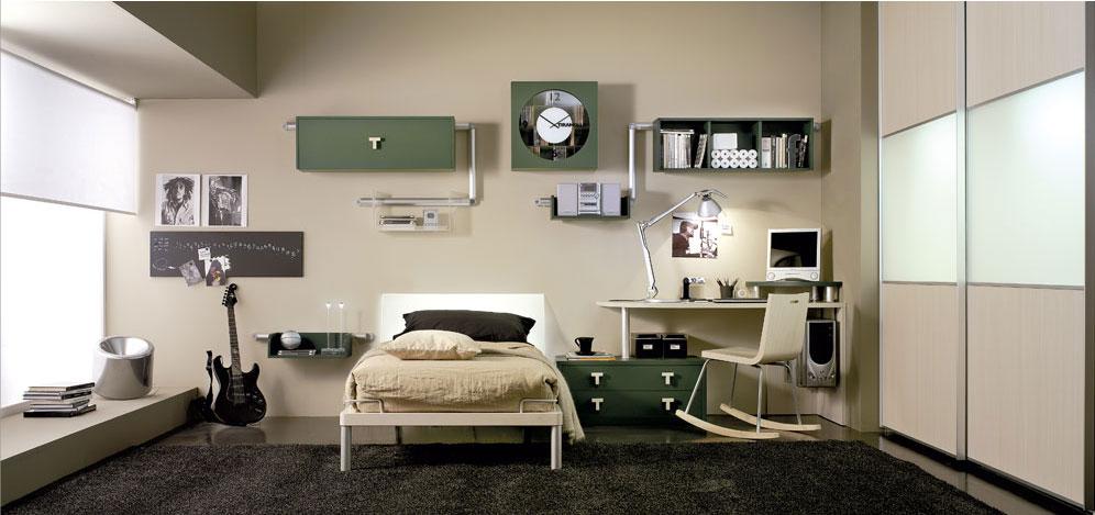 Dormitorios modernos para varones – dabcre.com