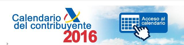 calendario del contribuyente 2016 (click imagen)