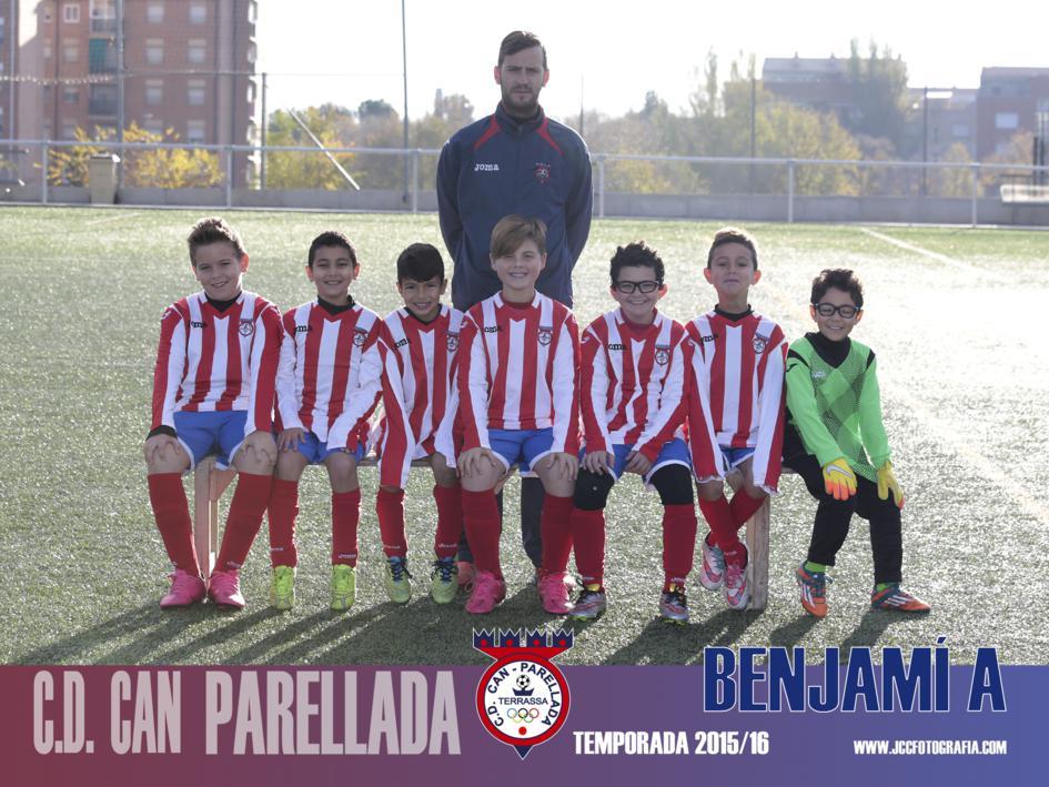 BENJAMÍN A. C.D.CAN PARELLADA TEMPORADA 2015-16
