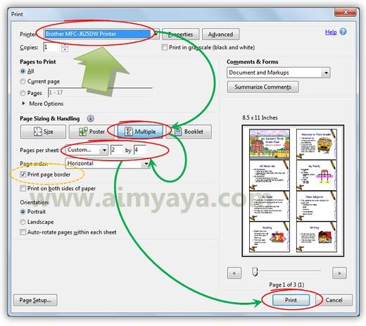 Gambar: Cara menambahkan teks/tulisan pada file dokumen PDF menggunakan Adobe Reader XI