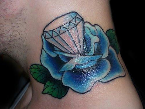 News the best diamond tattoos tedlillyfanclub for Tattoos of diamonds