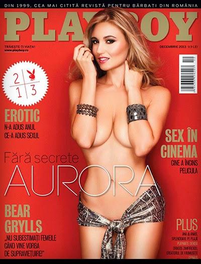 Aurora Marchesani - Playboy Romania - Dezembro 2013