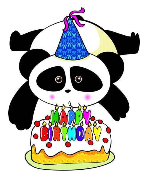Happy Panda Cake