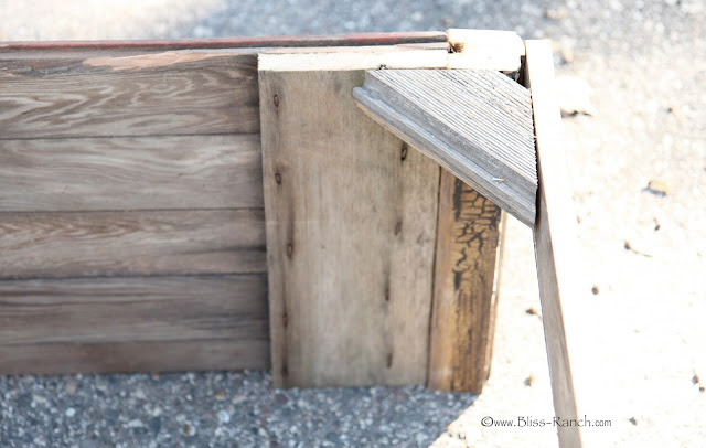 Antique Barn Doors Turned Coffee Table:  Bliss-Ranch.com