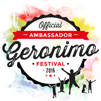 I Am An Official 2016 Geronimo Ambassador