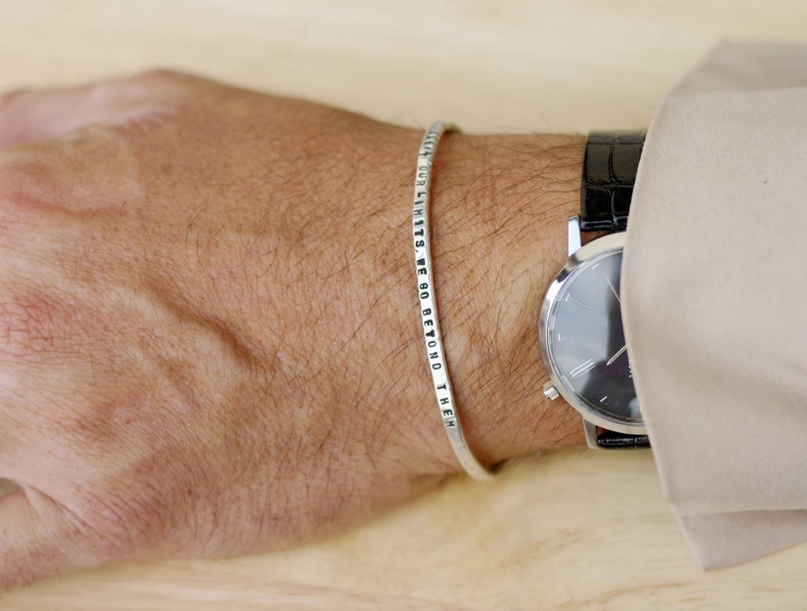 bracciali personalizzati uomo argento