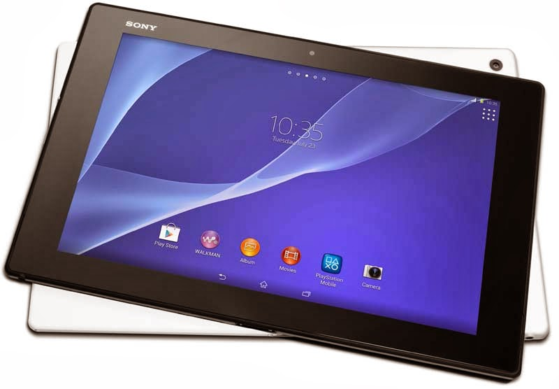 Sony Xperia Z2 Tablet, world's slimmest and lightest ...