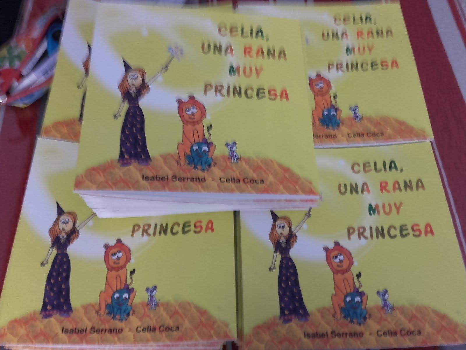 Celia una rana muy princesa