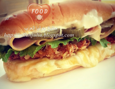 Homemade Super Crunchy Chicken Sandwich عمل سندويتش سوبر كرانشي تشيكن بالمنزل