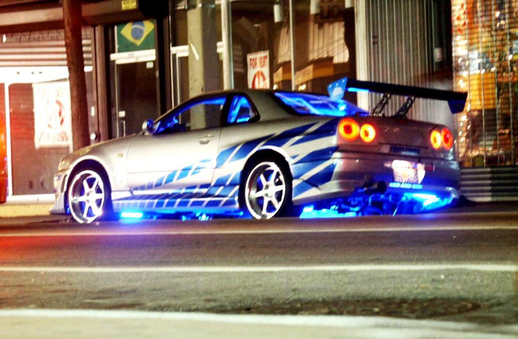 Nissan Skyline R34 Gt R 2 Fast 2 Furious