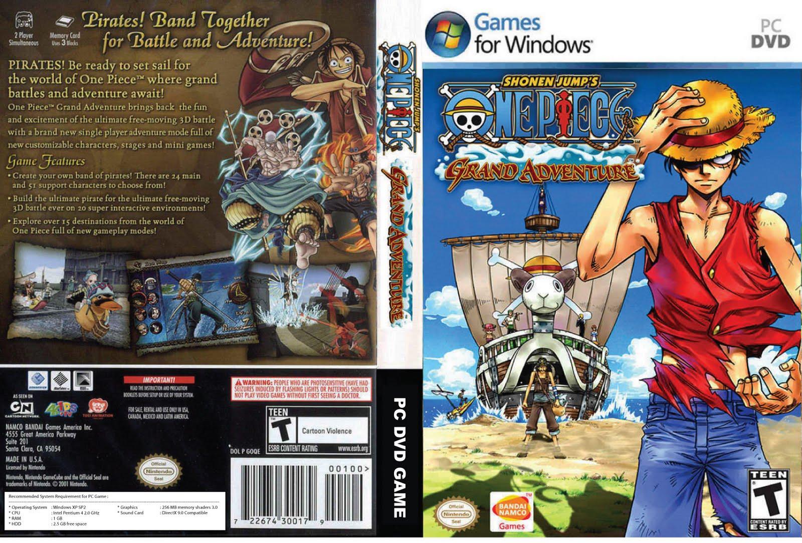 game one piece grand adventure untuk pc game ini berjenis adventure