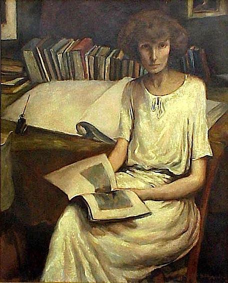Abraham Rattner. Portrait of Bettina Bedwell, 1921-1922