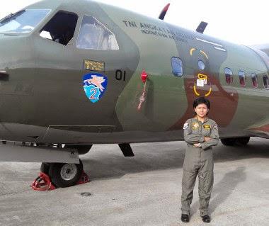 Sekti Ambarwati, Pilot Perempuan CN 235 dari Squadron Kalong
