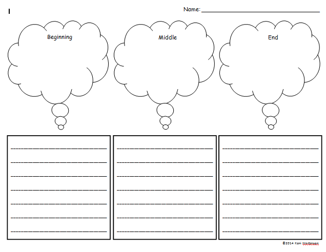 Beginning Middle And End Worksheet Davezan – Beginning Middle End Worksheet Kindergarten