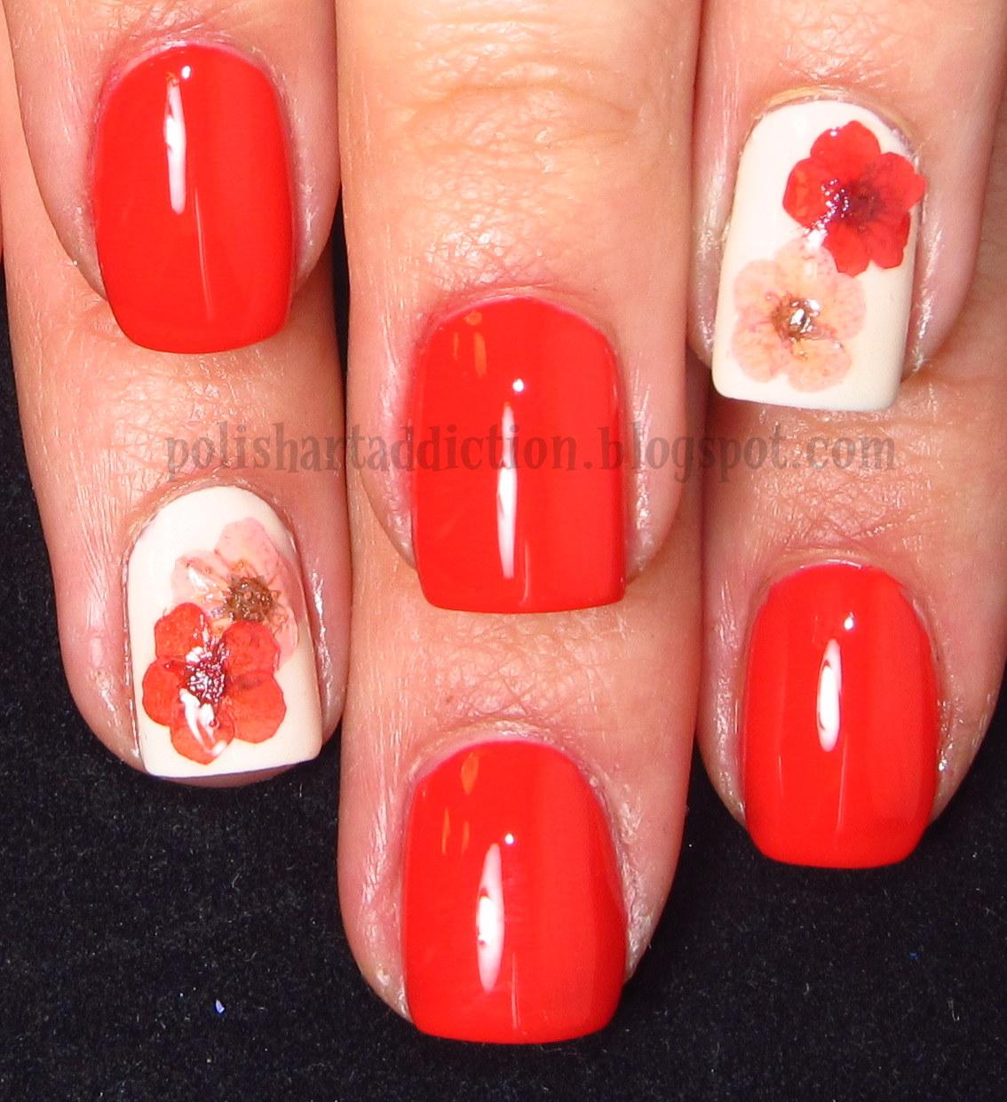 Coral Dried Flowers ~ PinkGrayChevron