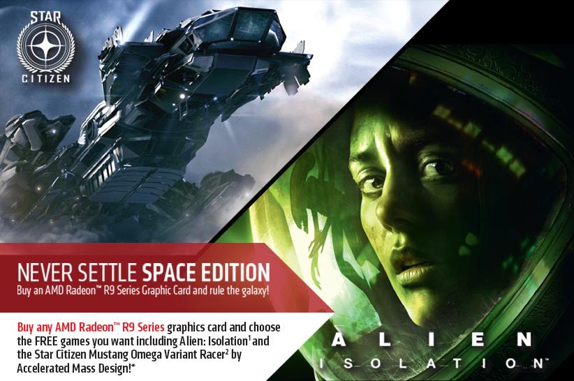 Space Edition, Star Citizen, Alien Isolation