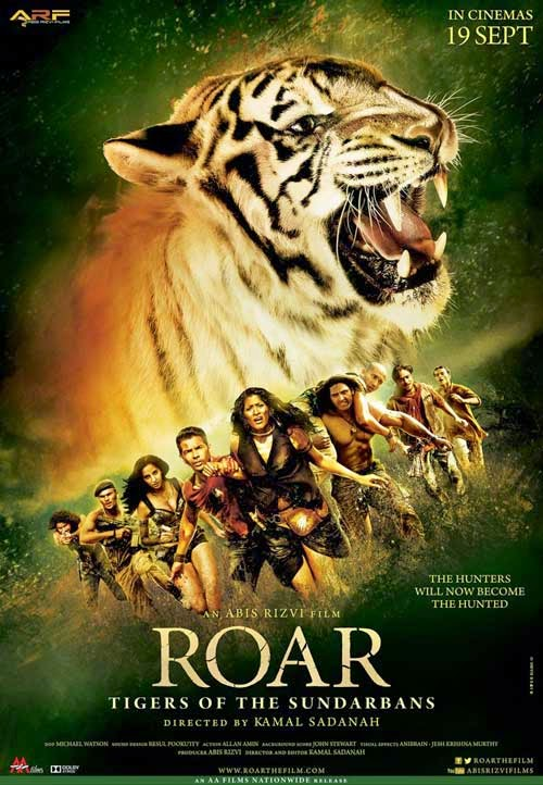 Roar Hindi Movie Poster