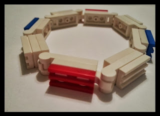 Patriotic Brick Bracelet available through Building Legos with Christ