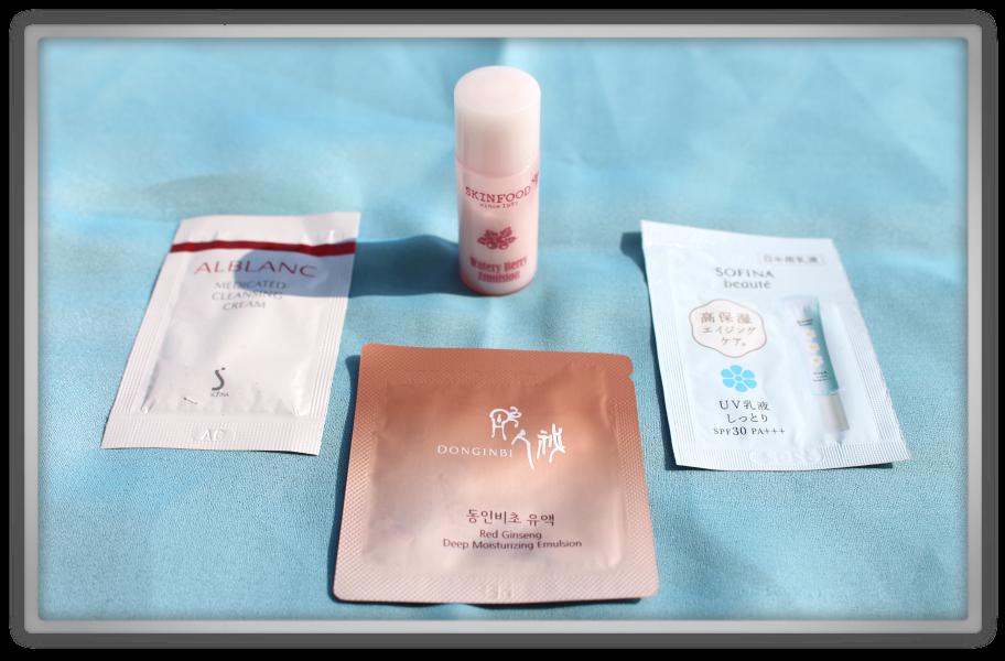 YesStyle Order #4 Small Skincare Haul korean japanese ladykin purity foam vanpir etude house blooming cotton pads cream samples