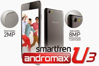 Spesifikasi Dan Harga Smartfren Andromax U3