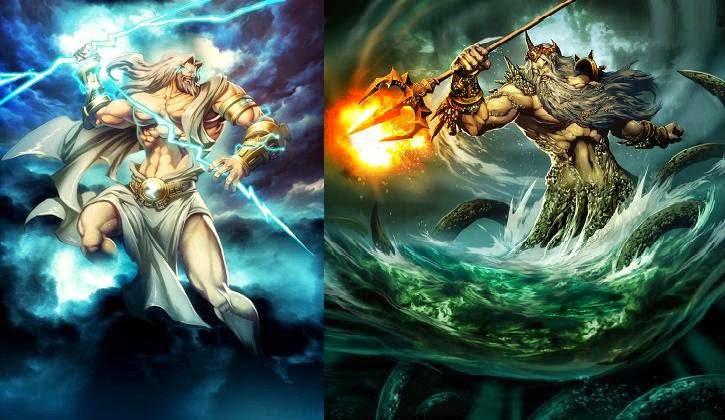Zeus Vs Poseidon | www.imgkid.com - The Image Kid Has It!