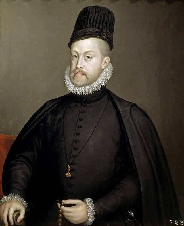 Retrato de Felipe II de España de Sofonisba Anguissola de Italia