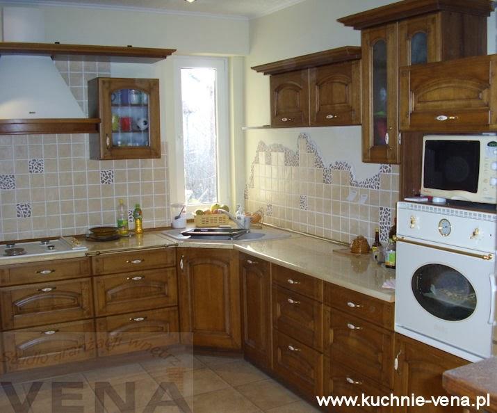 Meble kuchenne Lublin Vena w Domixie  opinie, porady   -> Kuchnia Rustykalna Nowoczesna