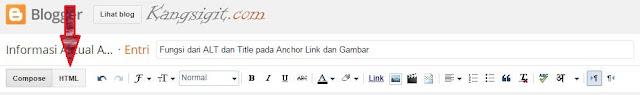 Merubah Compose menjadi HTML