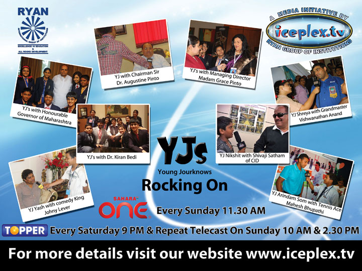 YJs of Iceplex with Celebrities...
