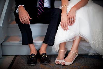 skor till bröllopsfest