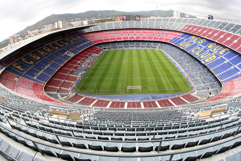 Bola sejarah stadion barcelona camp nou