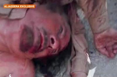 Muammar Gaddafi dibunuh