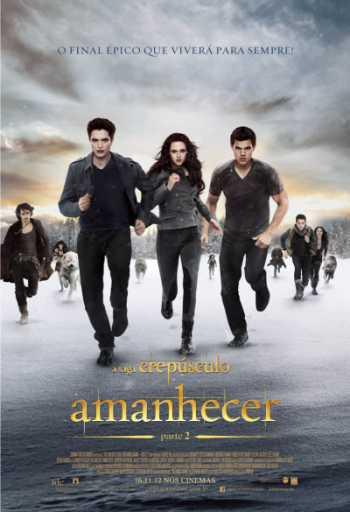 filme saga crepúsculo amanhecer parte 2 poster cartaz