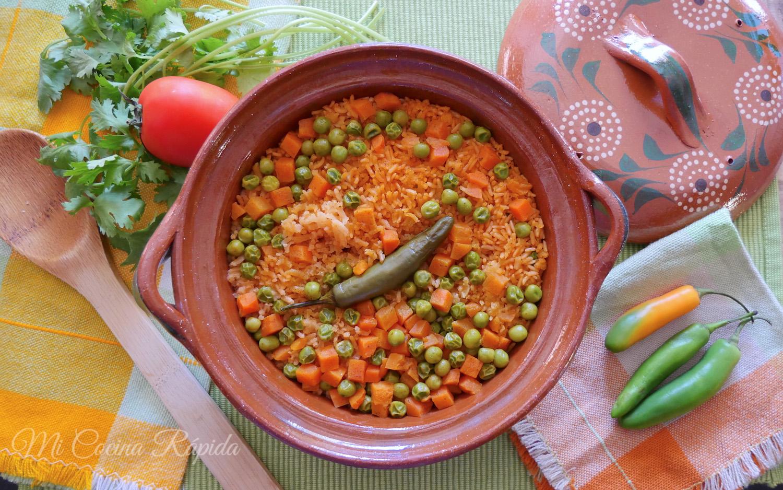 Arroz rojo una manera f cil y r pida mi cocina r pida - Cocina rapida y facil ...