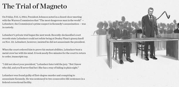 Magneto ¿asesino de Kennedy?