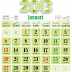 Download kalendar 2013 vektor Full (Horizontal)