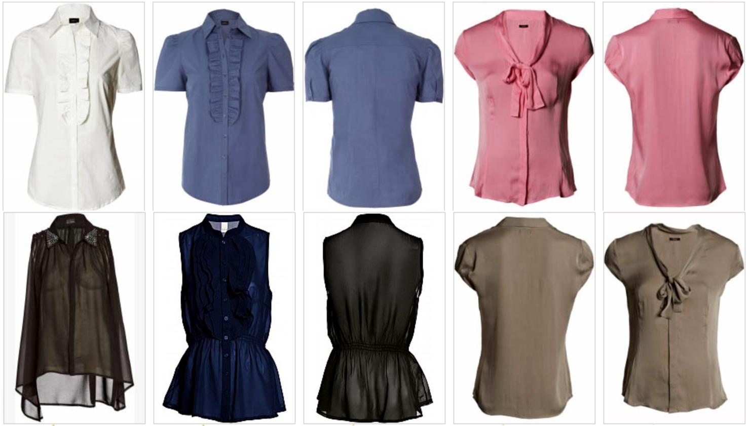 Reuni mais alguns modelos de blusas pra o Verão!Espero que goste, de ...