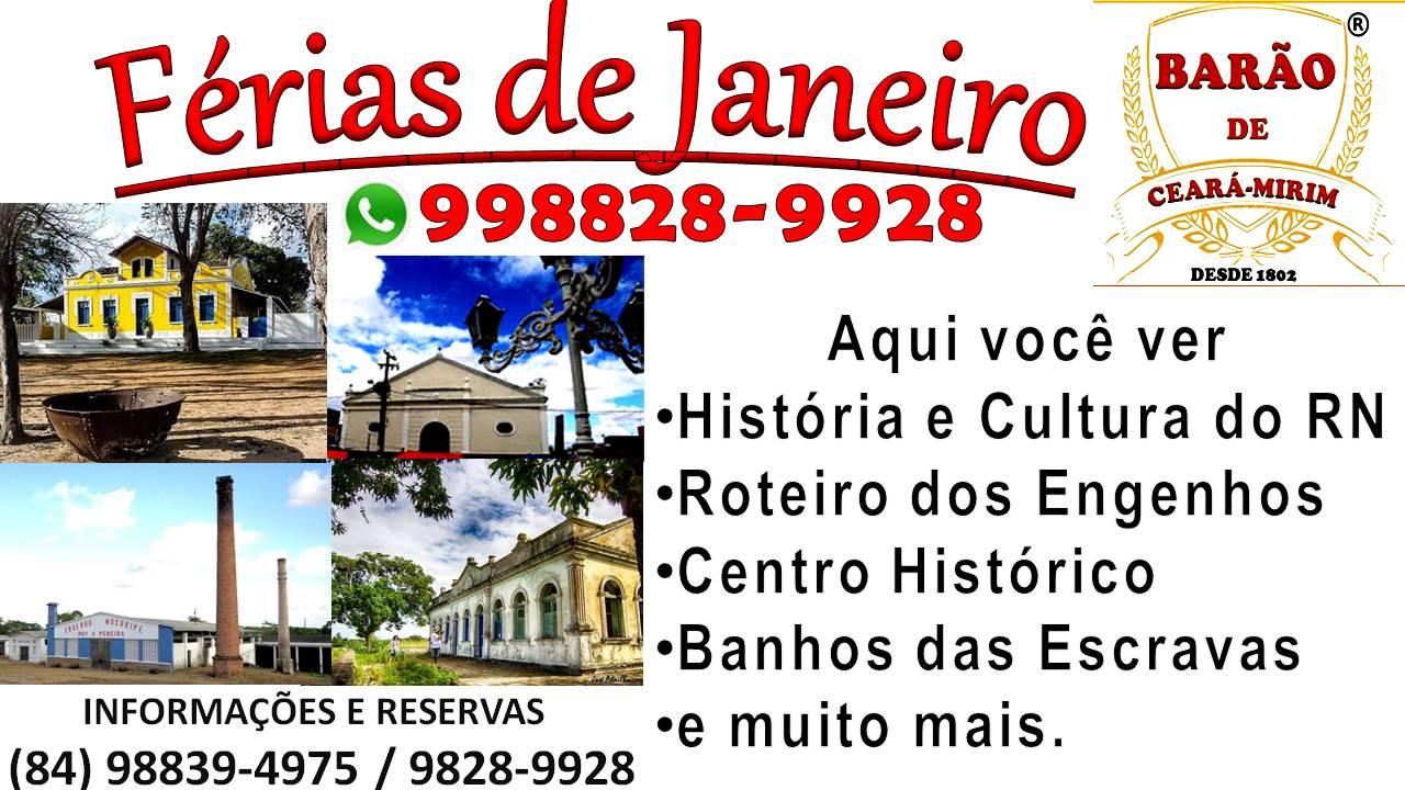 PROMOÇÃO FÉRIAS DE JANEIRO