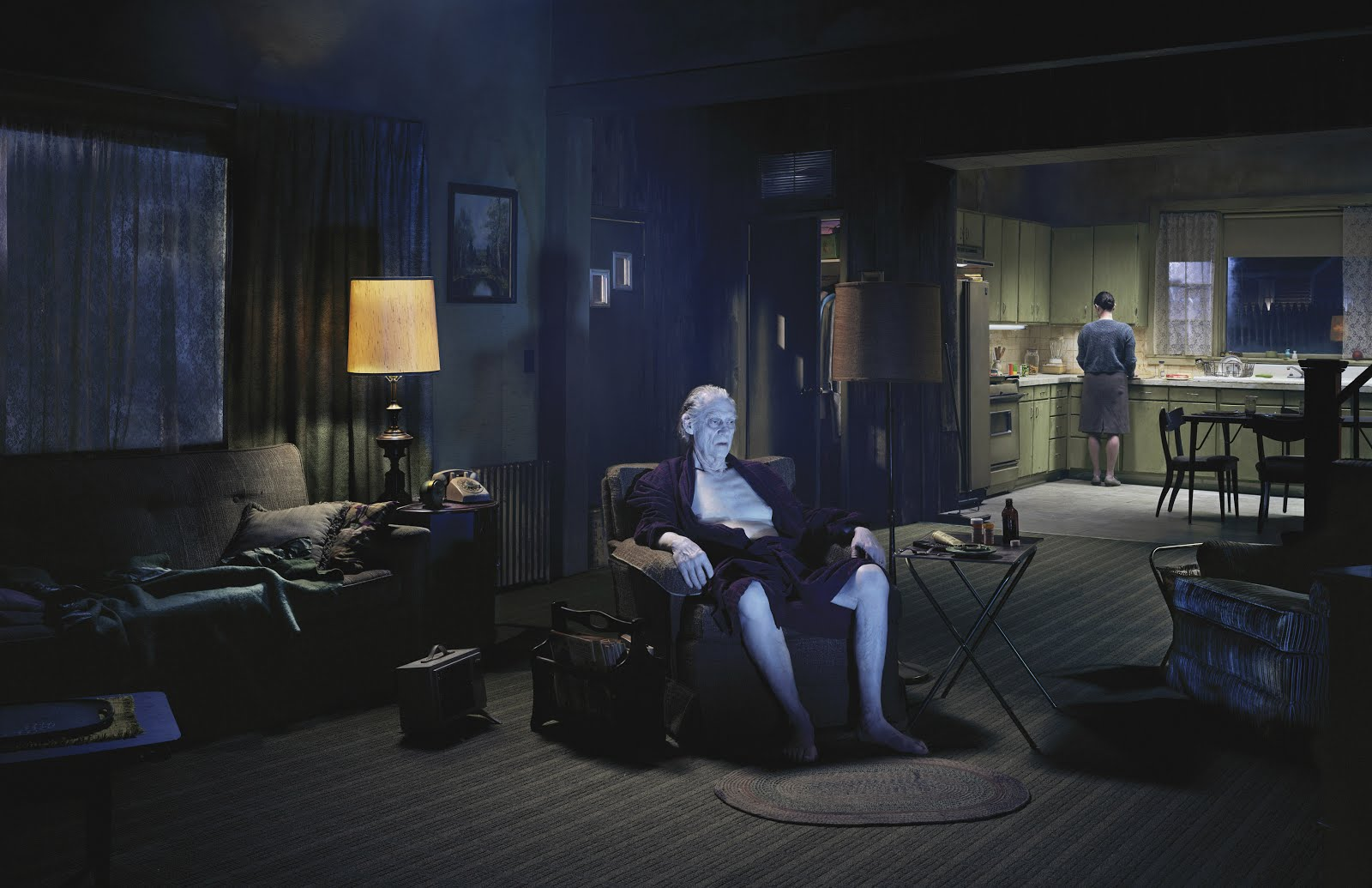 """gregory crewdson Around six years ago, during what he describes as a """"dark time"""" in his personal  life, gregory crewdson left new york for the berkshires, where."""