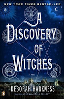 Book cover of A Discovery of Witches by Deborah Harkness (All Souls Trilogy #1)