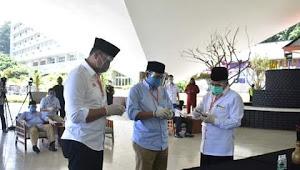 KPU Laksanakan Pengundian Nomor Urut Calon Bupati Dan Wakil Bupati Sukabumi