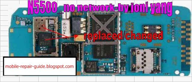 Nokia 5500 No Network Repair Guide