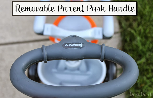 Joovy Tricycoo Tricycle Removable Parent Push Handle