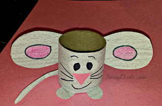 mouse toilet paper roll craft
